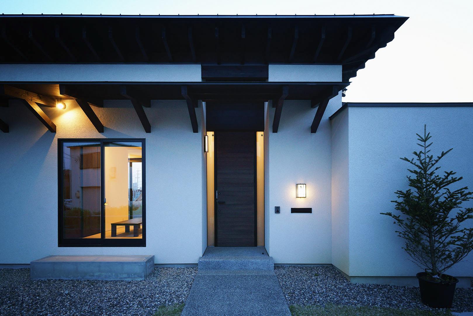 三角テラスの家_H建築スタジオ
