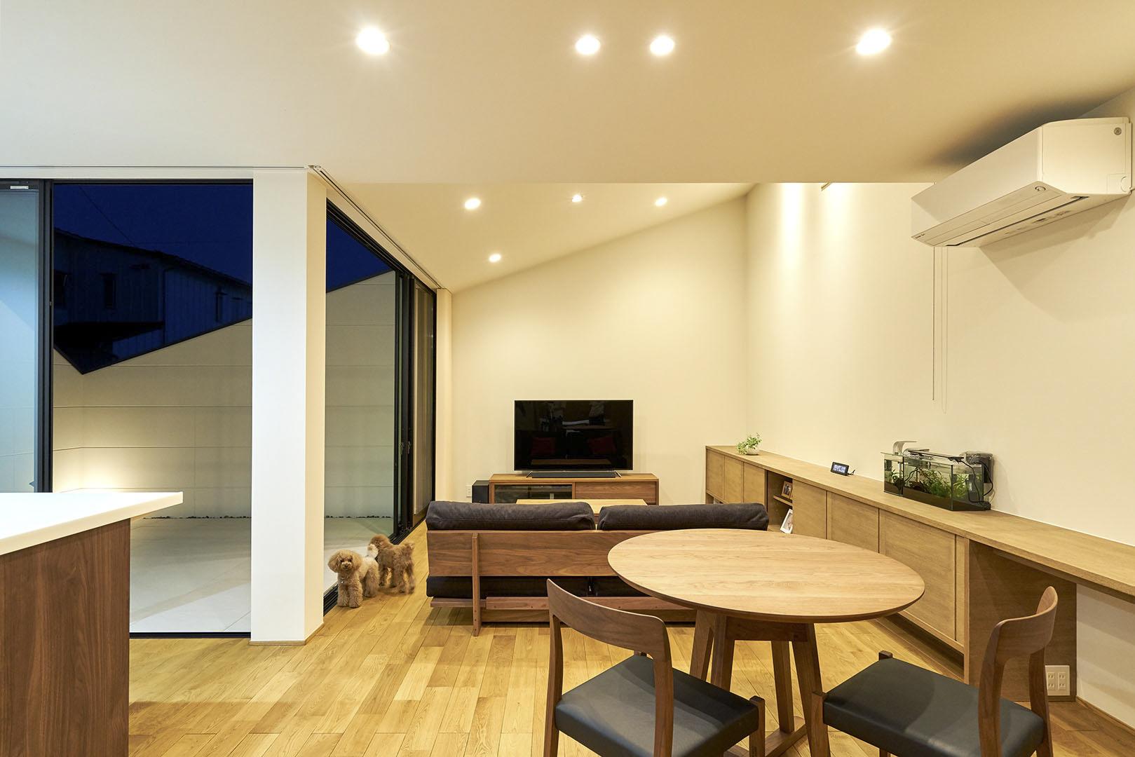 キリトリハウス35°_H建築スタジオ