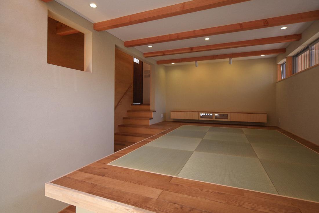 傾斜地の家_梶浦環境建築設計事務所