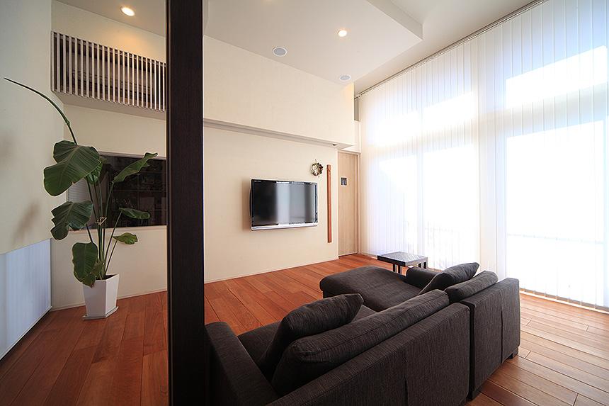 スキップフロアの家_MA設計室