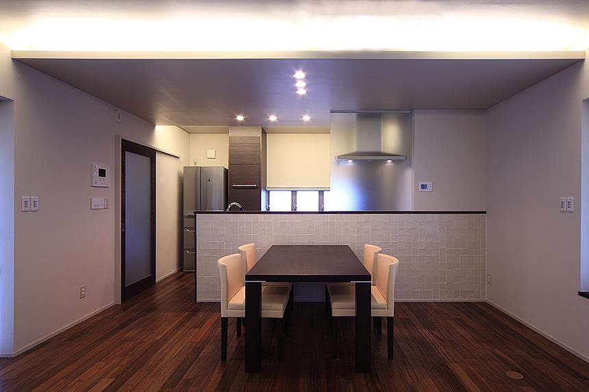 タイルテラスの家_MA設計室